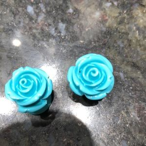 Jewelry - 00 turquoise flower tunnel